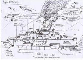 RR-49 Reaper Battleship by Target21