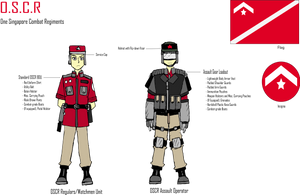One Singapore Combat Regiments by Target21