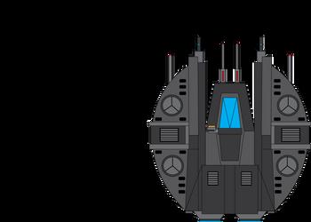 KF-100M 'Lazerchild' Starfighter by Target21