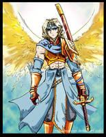 2010_01_12 Archangel Gabriel by RogueAngelAlan