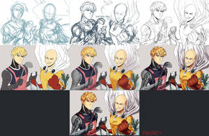 One Punch Man Step by Step by dahae1014