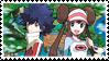 Sequelshipping (Hugh x Rosa) Stamp #2 by misawafujisaki-stamp