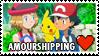 Amourshipping (Ash x Serena) Stamp by misawafujisaki-stamp