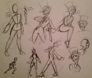 Coffinite sketches by Akuno-Hana