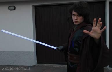 Anakin Skywalker - force power - Star Wars Cosplay by Axel3601