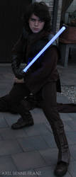 Anakin Skywalker - on guard - Star Wars Cosplay by Axel3601