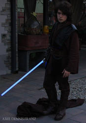 Anakin Skywalker - in action - Star Wars Cosplay by Axel3601