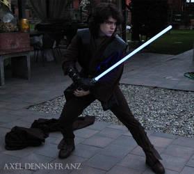 Anakin Skywalker - fight- Star Wars Cosplay by Axel3601