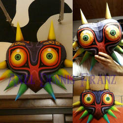 Majora's Mask papercraft by Axel3601