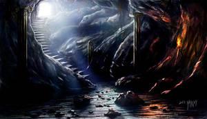 Dungeon Entrance by Elderscroller