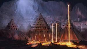 Dwarven Caverns by Elderscroller