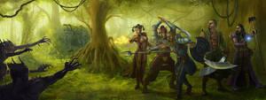 Jungles of Maraskan by Elderscroller