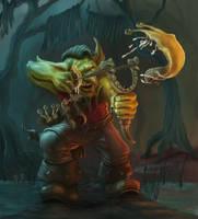 Goblin Slugthrower by Elderscroller