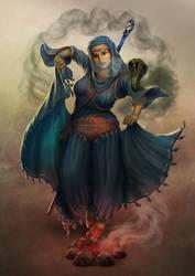 Nisha by Elderscroller