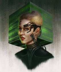 Seven of Nine by Elderscroller