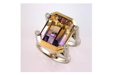 Amertrine Ring by carpe0diem