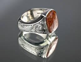 Dino Bone Ring 3 by carpe0diem