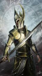 The Knight by John-Stone-Art