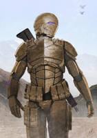 Desert Trooper by John-Stone-Art