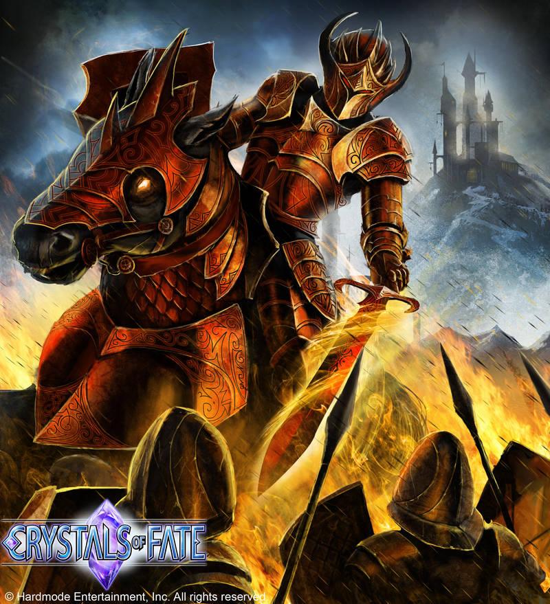 Cof Demon Knight By John Stone Art On Deviantart
