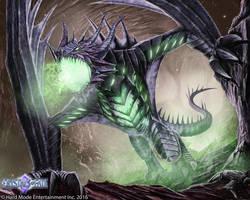 Plague Dragon by John-Stone-Art
