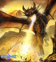 Fire Dragon by John-Stone-Art