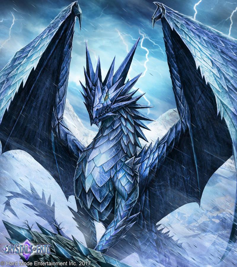 Frost Dragon: Frost Dragon By John-Stone-Art On DeviantArt