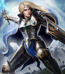 Celeste, Savior of Skymarch by John-Stone-Art
