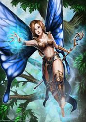 Sprite Enchantress by John-Stone-Art