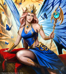 Bellina, The Sprite Queen by John-Stone-Art