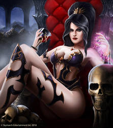 Vi'Phorra, The Dark Temptress by John-Stone-Art