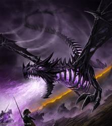 Bone Dragon by John-Stone-Art