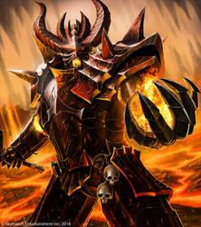 Demonlord Zarkoth by John-Stone-Art