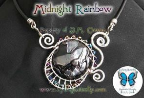 Midnight Rainbow by cyborgbutterfly