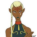 One day, one cutie - 03 Impa (Zelda Skyward Sword) by DavidRaphet