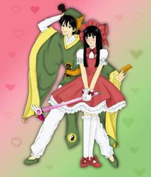 sawako and kazehaya cosplaying by Beesho