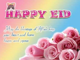 Eid mubarak by Beesho