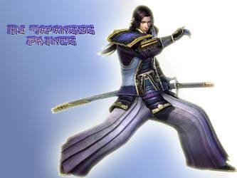 elegant samurai by Beesho