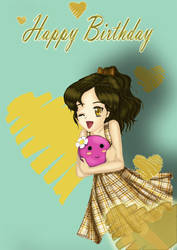Happy birthday by Beesho