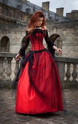 women in red by Lesta