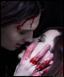 bloody kiss... by Lesta
