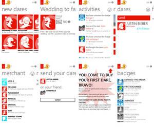 Windows Phone app - War of Dares by XavierBoubert