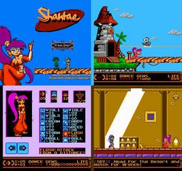 Shantae for NES by Eorxroa