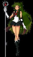 Sailor Pluto by YukiBean