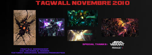 Novembre Tagwall by 1337Garona1337