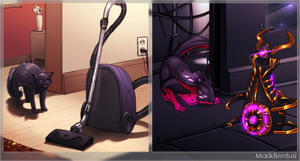 Warframe: Vacuum by MarikBentusi
