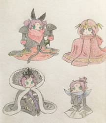 Tiny Faes by Marze88