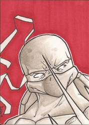 Raphael Sketch Card by Ross-A