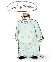 Cop Mumu by grachakkla
