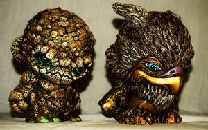 Earth and Water Kings Tetros and Agila by VILORIA-ARTS